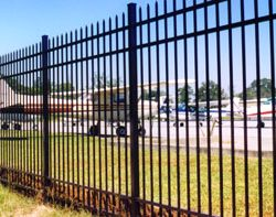 aluminum fence monroe